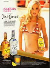 2012 Print Ad for Jose Cuervo`Sexy Blonde`bathing suit (122113)