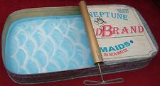 "Oversized ""mermaid� metal sardine can, fun art, by Studio Nova"