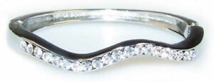 BRACCIALE DONNA monile pietre zirconi gioiello Diamante