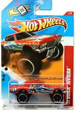 2012 Hot Wheels #216 Thrill Racers - Prehistoric '71 Buick Riviera red