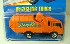 Hot Wheels Recycling Truck 1992 Blue Card #143  Combine Shipping