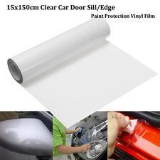 15X150cm Anti-Scratch Clear Car Door Sill Edge Paint Protector Guard Vinyl Film
