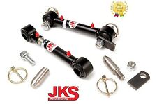 """1987-1995 Jeep Wrangler YJ JKS HD Front Sway Bar Link Disconnects for 0-6"""" lifts"""