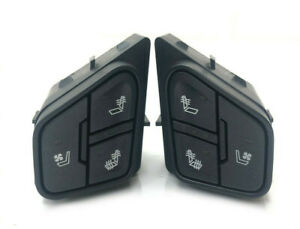 2015-2018 GM Heated Cooled Seat Control Switch Pair Passenger & Driver Side OEM