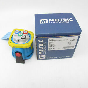 Meltric Receptacle Connector DS20 20A 1P+N+G 120VAC Type 3R 33-18165