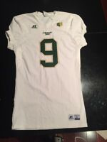 Game Worn Used Colorado State Rams Football Jersey #9 Russell L BOWMAN