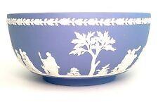 "Wedgwood ""The Sacrifice"" Bowl, Light Blue Jasperware"