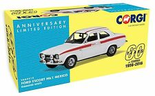 Corgi Vanguard Ford Escort MK1 Mexico Diamond White VA09519