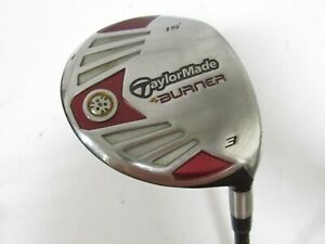 Used RH TaylorMade Burner 15* 3 Fairway Wood REAX 50 Graphite Stiff S Flex