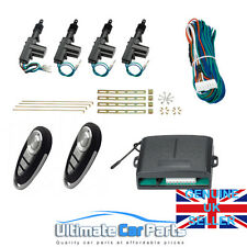 Remote Central Door Locking Conversion Kit Universal Fit All Cars 2 or 4 Door UK