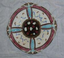 "Beautiful Antique 9"" Wedgwood Majolica Jesus Winged Angel Cherub Plate 2829 VTG"