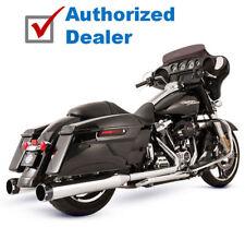 S&S Chrome Thruster El Dorado MK45 Exhaust Pipes Mufflers Harley 17-18 Touring