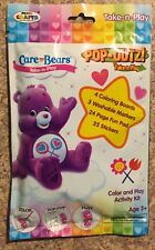 Care Bears Take-n-Play Pack Coloring Board Markers Stickers Share Bear Shipping