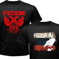 Pride FC Russian MMA Fighter Legend Fedor Emelianenko Last Emperor Eagle T-shirt