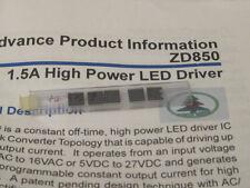 ZD850LEY 1.5A High Power Led Driver TSSOP 16    ZyWyn  1pcs
