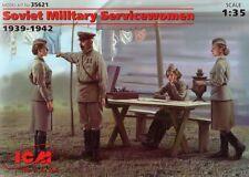 ICM 1/35 Soviet Military Servicewomen 1939-1942 # 35621