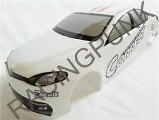 RC 1/10 EP Car 190mm Painted Bodyshell body fit TT01 TL01 CITROEN C6 style WHITE