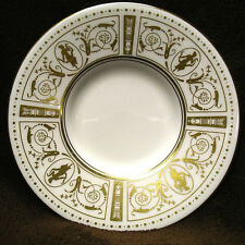 Wedgwood GOLD GRECIAN bone china saucer Made in England