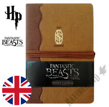 Fantastic Beasts Notebook Newt Scamander Journal A5 Premium Harry Poter