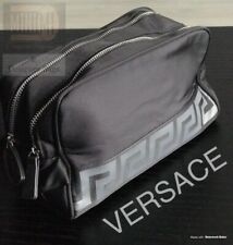 🆕💙💜Versace Black Beauty Toiletry Case Travel Overnight Wash Bag New    Sealed 0ec57a07dda75