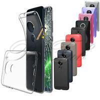 Per Motorola Moto G7 Più Play Potenza Nuovo Gel Trasparente Custodia Telefono+
