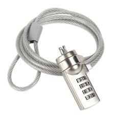 Cable de Sécurité à Combinaison 120 cm Coded Safety Cable Lock NEUF