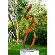 Modern Copper Metal Sculpture Centerpiece Yard Art Outdoor Decor by Jon Allen