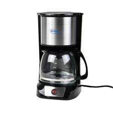 ELTA Kaffeemaschine 12 Tassen 1,5 L, 800 Watt, Schwarz