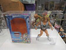 1987 HE-MAN MOTU TYTUS LOOSE FIGURE W/ BOX CAS 85 OVERALL 88.7 HOLY GRAIL WOW