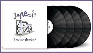 "Genesis ""the last domino"" limited 180g Vinyl 4LP + MP3 NEU Best-Of-Album 2021"