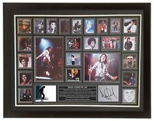 Large Michael Jackson Hand Signed Autograph Display