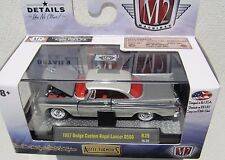 M2 MACHINES AUTO-THENTICS R39 1957 DODGE CUSTOM ROYAL LANCER D500 16-29