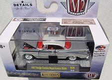 M2 MACHINES AUTO-THENTICS R39 1957 DODGE CUSTOM ROYAL LANCER D500 16-29