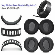 Ear Pads Cushion pillow For Sony Wireless PS3 PS4 Headsets CECHYA-0080 95mm