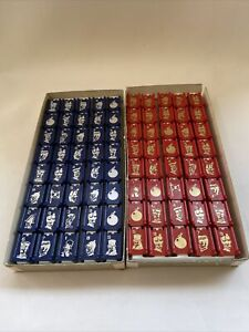 Milton Bradley 1970 Stratego 4916 Red & Blue 80 Replacement Pieces