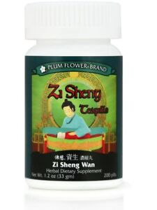 Plum Flower, Zi Sheng Wan, 200 ct