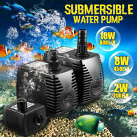 Submersible Water Pump for Aquarium Fish Tank Water Feature Optional 200-600L