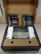 Commodore plus/4 in Original Box w/ Manuals & Cords ~ Software Built In   RARE