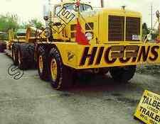 "1964 HENDRICKSON ""BIG HENRY"" PRIME MOVER, Higgins, Buffalo, NY 8x10 Color Photo"