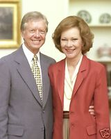Jimmy Carter First Lady Rosalynn White House Portrait 8 x 10 Photo Picture