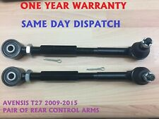 2x TOYOTA AURIS AVENSIS 2006-2012 REAR LEFT- RIGHT TRACK CONTROL WISHBONE ARM