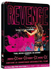 REVENGE - ITA - ENG - ULTRA LIMITED -  STEELBOOK - CD + BOOKLET +  BLU-RAY