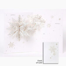 Pure Alchemy - Paper Engineered Card - Snowflakes - Up-Wp-Al-018