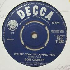 "Don Charles(7"" Vinyl 1st Issue)It's My Way Of Loving You / Guess That's T-Ex/VG+"