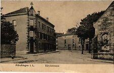 CPA  Mörchingen i. L. - Kirchstrasse  (386376)