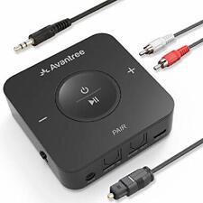 Avantree Bluetooth Transmitter Receiver for TV, Optical Digital Toslink, Volume