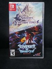 Saviours of Sapphire Wings / Stranger of Sword City Revisited (Switch) BRAND NEW