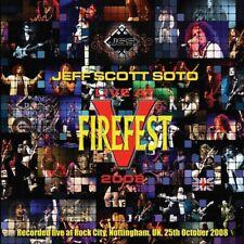 JEFF SCOTT SOTO - Live At Firefest V 2008  (2-CD)