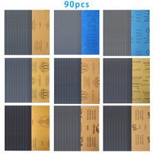 FERM 5tlg Schleifblatt-Set Schleifblätter Schleifpapier Schleifscheiben PSA1008