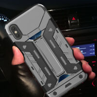 [Military Grade] Heavy Duty Hybrid Protective Case Cover For iPhone XS X 8 7 6s